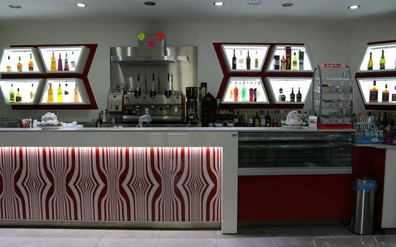 Interior design per bar