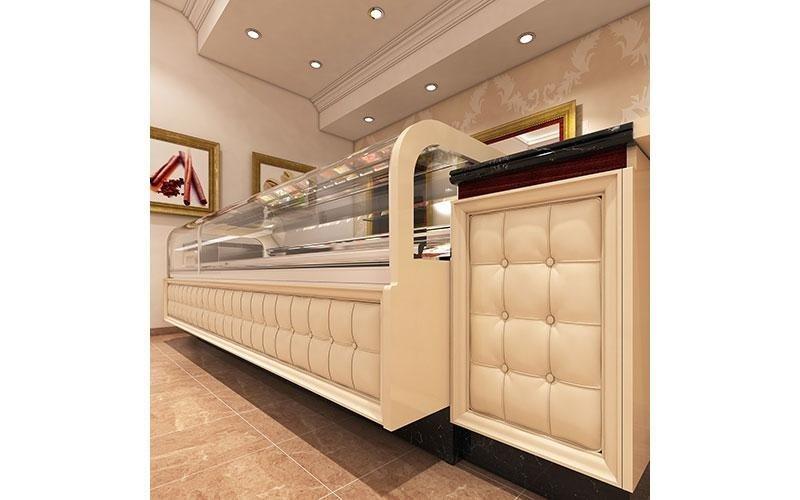 Arredamento gelaterie  modello LUMINA