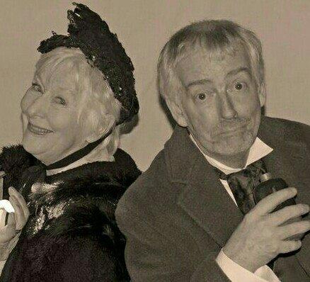 Anna Hepburn and Finlay McLean in Nancy Sleekit and Howard's Revenge