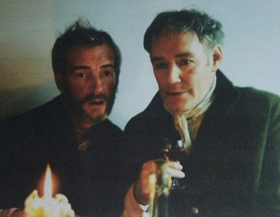 Finlay McLean and John Shedden in Andrew Dallmeyer's Opium Eater