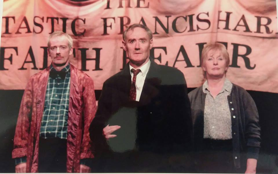 Finlay Mclean,John Shedden and Anna Hepburn in Faith Healer