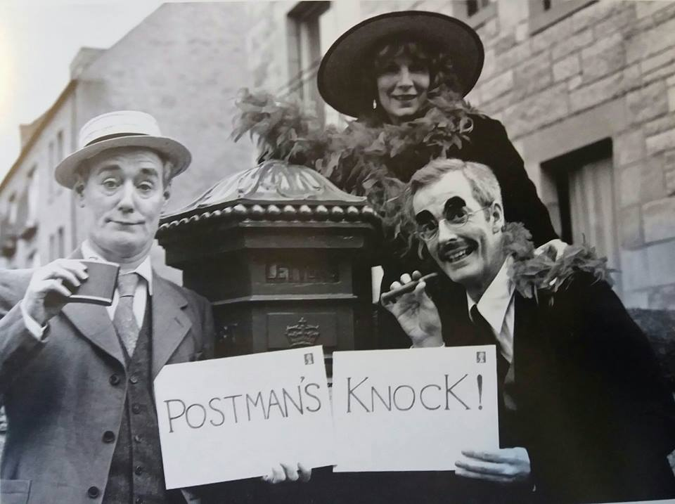 John Shedden,Rose McBain and Finlay McLean in Postman's Knock