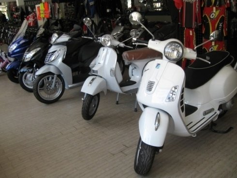 esposizione scooter