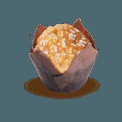 Muffin albicocca