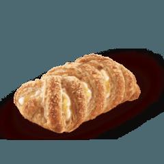 intreccio pasta sfoglia crema e mela
