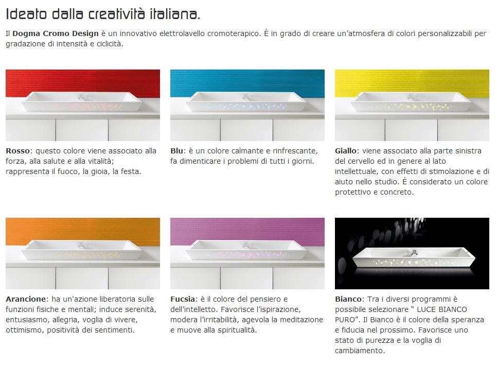 lavello cromo design