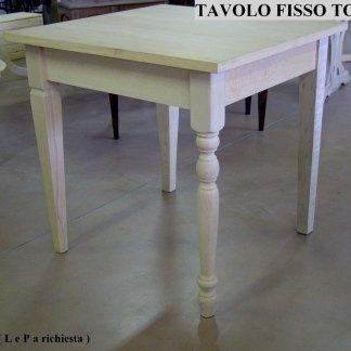 Tavolo Tornito
