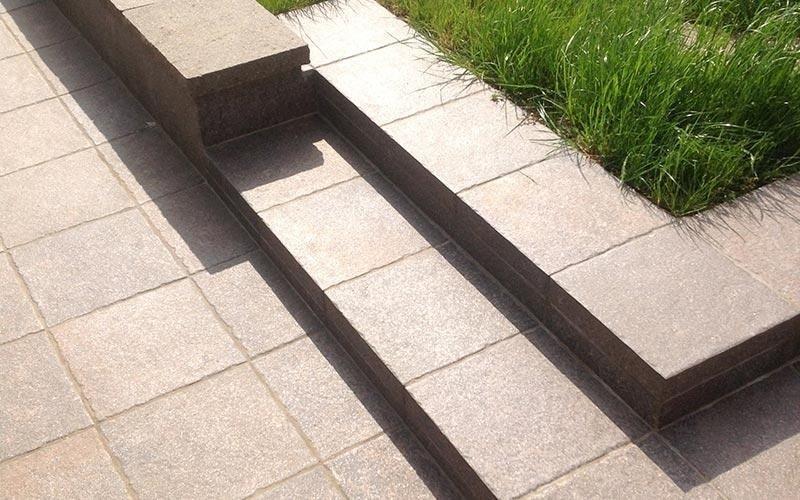 Scale e pavimenti per esterni