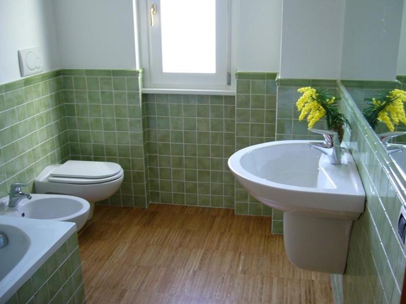Rivestimento bagno verde du39 regardsdefemmes - Bagno verde mela ...