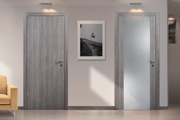 Emejing porte interne grigie gallery - Porta interna vetro ...