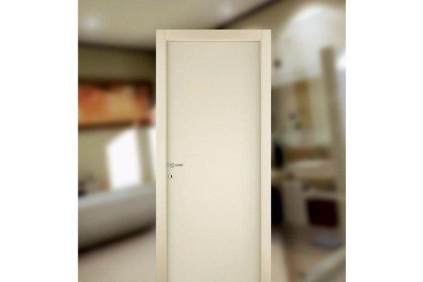Porta in stile moderno bianca