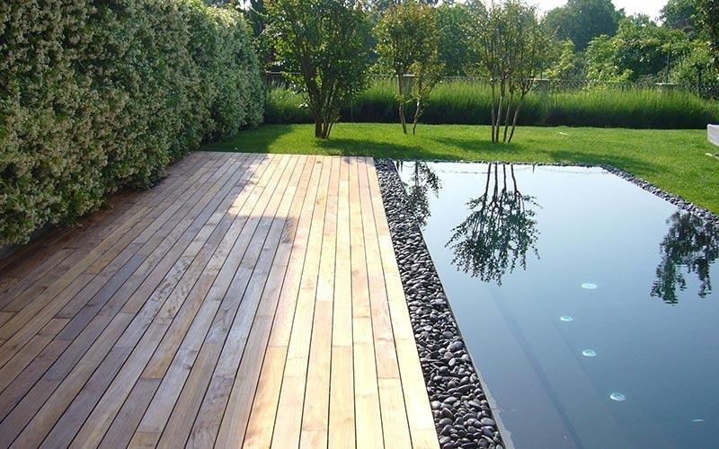 Pavimenti in legno per piscine