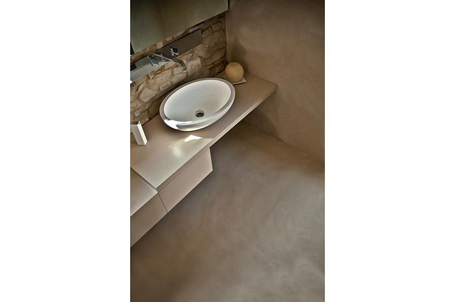 Arredamento moderno per bagno