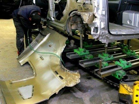 riparazioni complesse carrozzzeria