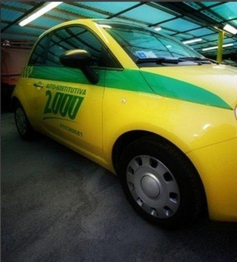 Auto sostitutiva carrozzeria 2000