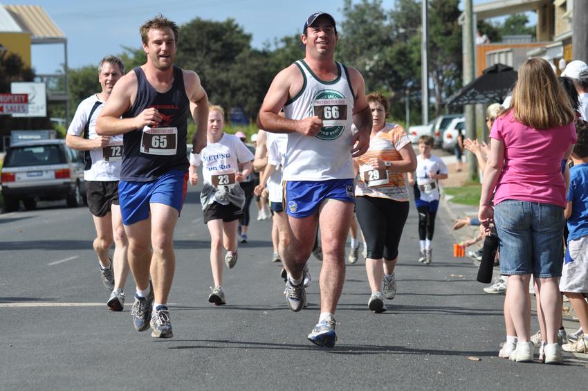 fun run participants
