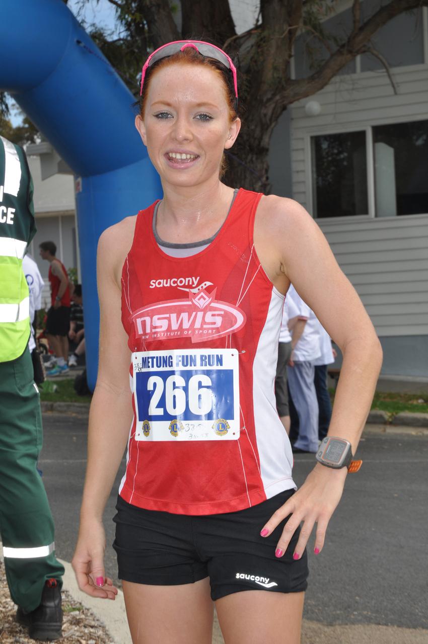 10km fun run winner