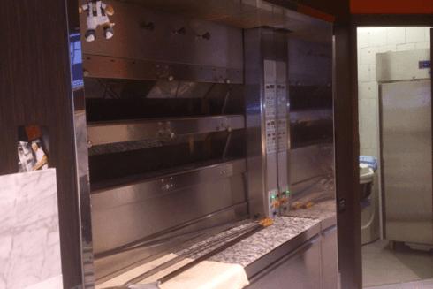 Un dettaglio della cucina