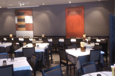 Il ristorante ospita banchetti per cerimonie