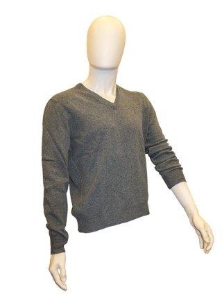 maglia con scollo a V