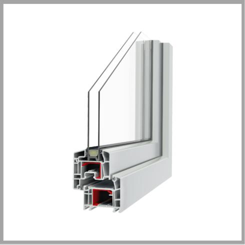 Serramenti Q-FORT ad isolamento termico e fonico