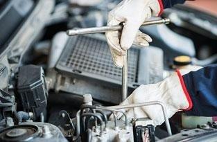 riparazione di autovettura