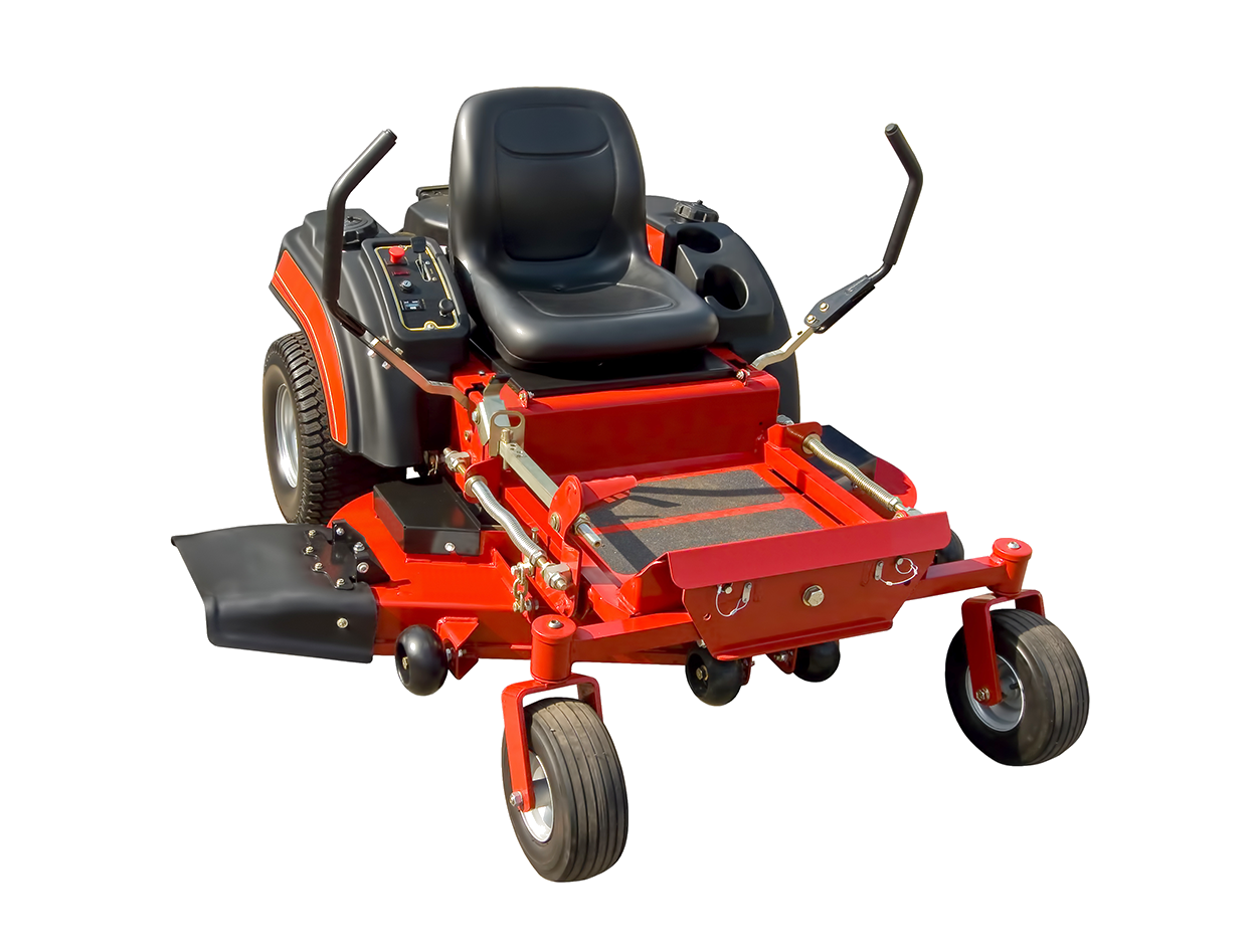 Industrial lawn mower
