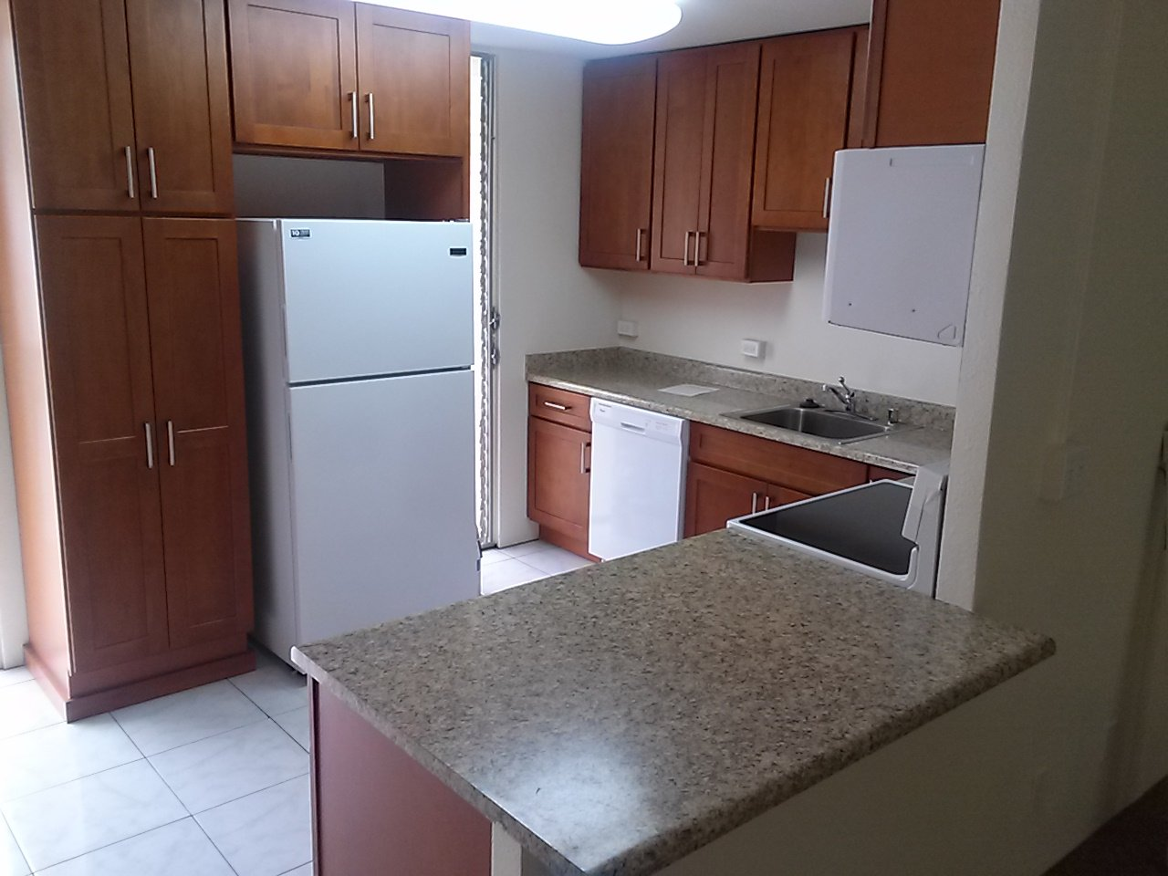 remodeled and renovated kitchen after repairs