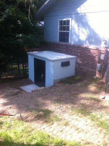 SafePorch storm shelters, Lowell,  AR