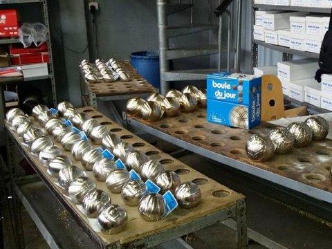 Production et commercialisation boules de pétanque