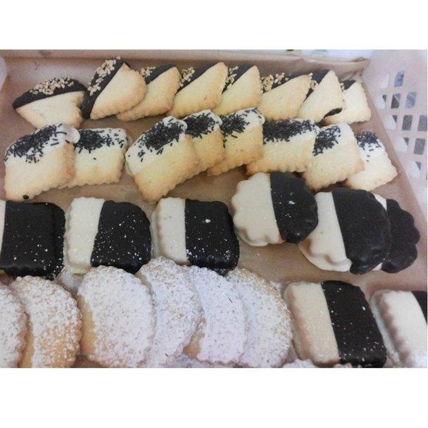 dei biscotti senza glutine