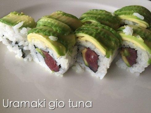 uramaki gio tuna