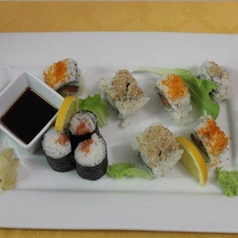 maki misto, secondi piatti, sushi, cucina cinese