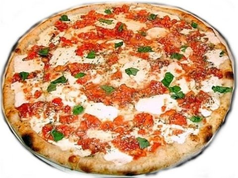 pizza margherita da asporto