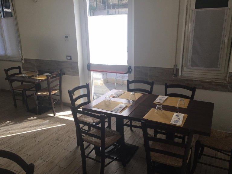 sala pizzeria il Mortaio