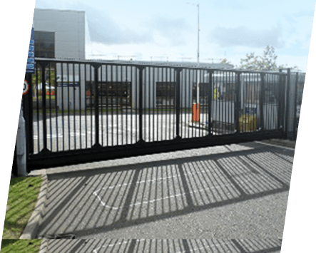 A set of automatic gates