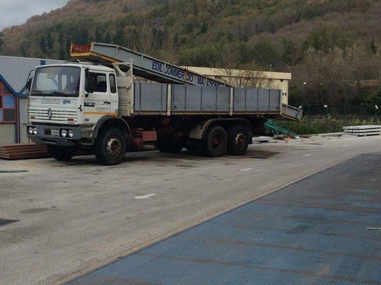 trasporto materiali edili