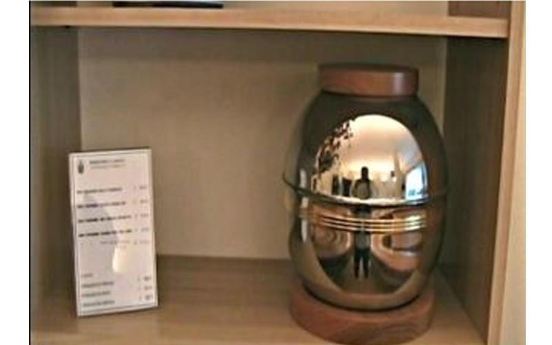 urna metallo