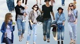 jeans, taglie conformate, borse