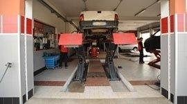 Tyre dealer in Ogliastra