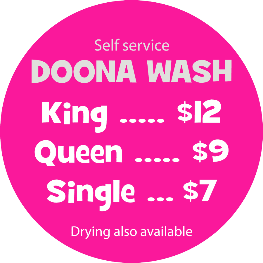donna wash pricing