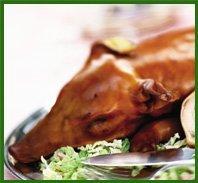 Hog and spit roast menu