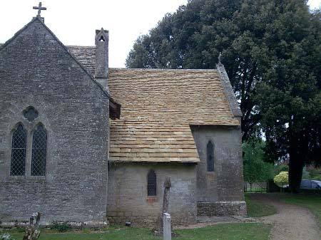 Cotswold stone roof