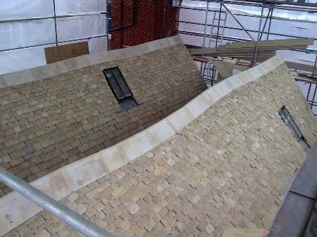 Cotswold stone for roofs