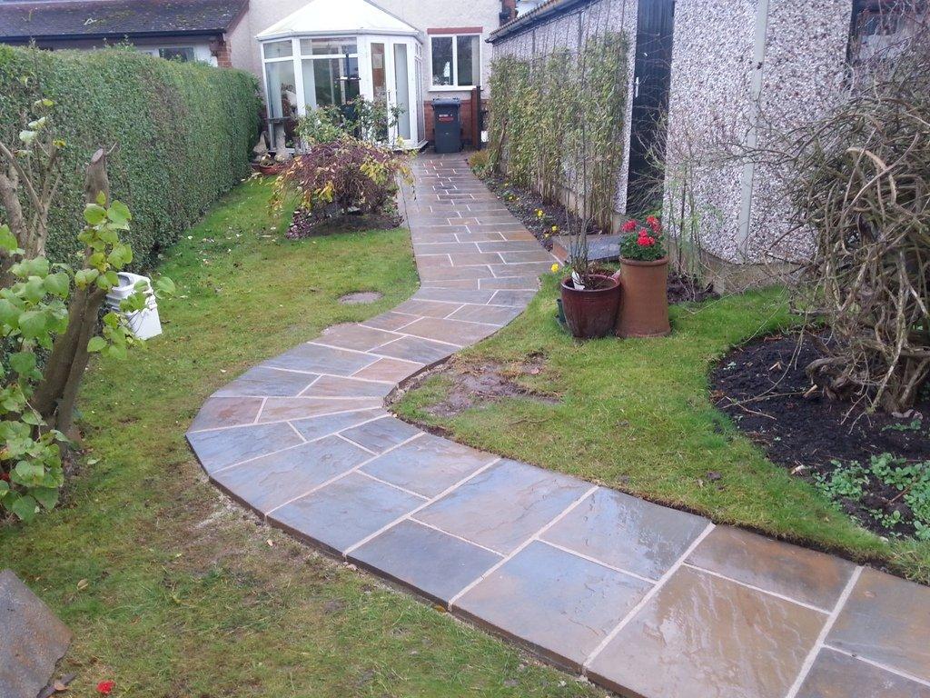 multi-tiled pathway
