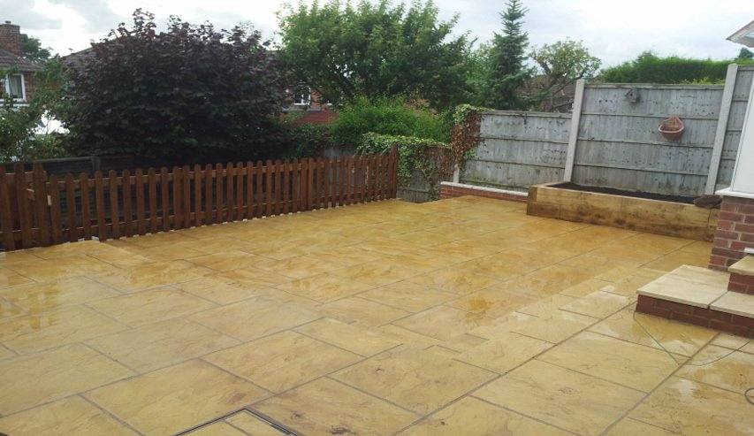Landscaping project - After
