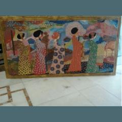 Pittura materica a rilievo