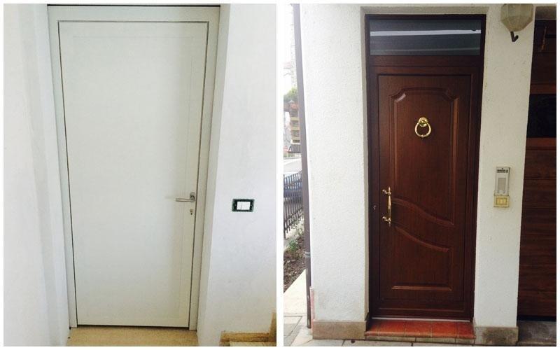 creazione porte in legno