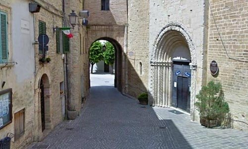 town in the marche