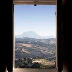 vista colline umbre
